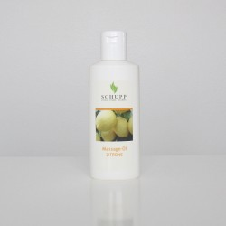 Massage oil Lemon, Schupp