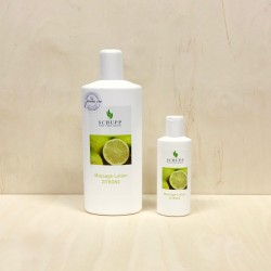 Massage-lotion, Lemon, Schupp